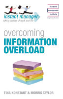 Overcoming Information Overload Book
