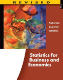 Statistics for Business and Economics  Revised