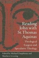 Reading John with St  Thomas Aquinas