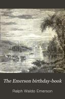 The Emerson Birthday-book