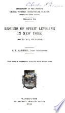 Results of Spirit Leveling in Alabama  1911 Book PDF