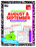 August   September Monthly Collection  Grade 3