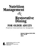 Nutrition Management   Restorative Dining for Older Adults