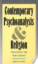 Contemporary Psychoanalysis and Religion