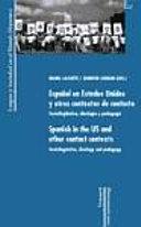 Español en Estados Unidos y otros contextos de contacto