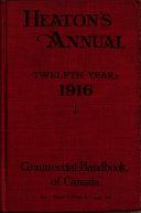 Heaton s Commercial Handbook of Canada Book PDF