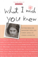 What I Wish You Knew Book PDF