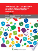The Potential Effect and Mechanism of Chinese Traditional Medicine on Vascular Homeostasis and Remodeling Book