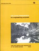 Soil Survey Interpretation for Engineering Purposes