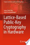 Lattice Based Public Key Cryptography In Hardware