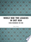 World War Two Legacies in East Asia Book