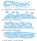 A Child's Christmas in Wales Book