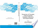Dynamics of Complex Interconnected Systems  Networks and Bioprocesses Book