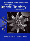 Introduction to Organic Chemistry, Student Solutions Manual