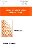 Journal of Spanish Studies