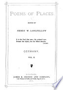 Poems of Places: Germany