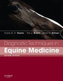 Diagnostic Techniques in Equine Medicine E Book