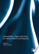 Globalisation, Higher Education, the Labour Market and Inequality Pdf/ePub eBook