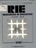 Resources in Education - Band 26,Ausgaben 7-9 - Seite 187