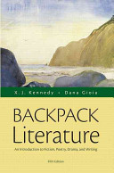 Backpack Literature  An Introduction to Fiction  Poetry  Drama  and Writing Plus Myliteraturelab    Access Card Package