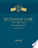 Business Law  Text   Cases   An Accelerated Course Book