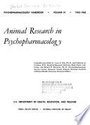 Psychopharmacology Handbook Book