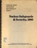Nuclear Safeguards Security 1980 Book PDF
