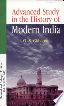 Advance Study in the History of Modern India (Volume-3: 1920-1947)