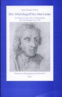Der Arbeitsbegriff bei John Locke