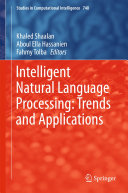 Intelligent Natural Language Processing  Trends and Applications