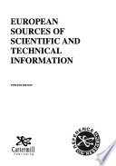 European Sources of Scientific and Technical Information