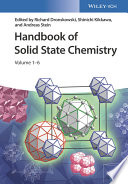 Handbook of Solid State Chemistry  6 Volume Set