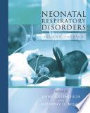 Neonatal Respiratory Disorders  2Ed Book