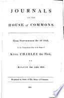 Journals of the House of Commons  , Volume 6