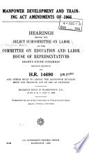 Manpower Development And Training Act Amendments Of 1966 PDF