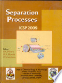 Separation Processes Book