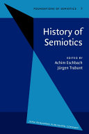 History of Semiotics