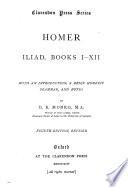 Iliad  books I XII Book