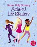 Sticker Dolly Dressing Action  and Ice Skaters