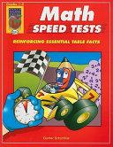 Math Speed Tests