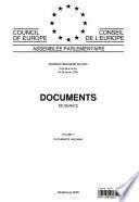 Assemblée parlementaire Documents de séance Session ordinaire 2000 (Première partie), Volume II