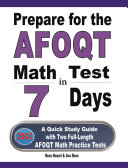 Prepare for the AFOQT Math Test in 7 Days