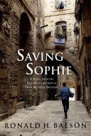Saving Sophie Pdf/ePub eBook
