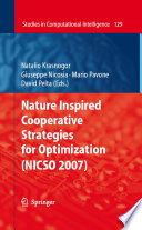 Nature Inspired Cooperative Strategies for Optimization  NICSO 2007