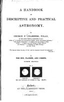 A Handbook of Descriptive and Practical Astronomy  The sun  planets  and comets