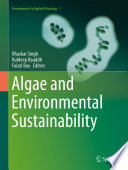 Algae and Environmental Sustainability