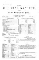 Pdf Official Gazette of the United States Patent Office
