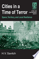 Cities in a Time of Terror  Space  Territory  and Local Resilience