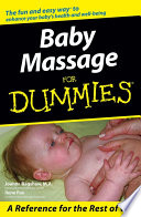 Baby Massage For Dummies Book PDF