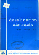 Desalination Abstracts Book